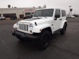 2012 Bright White Jeep Wrangler Sahara Arctic Edition 4x4 #57875158