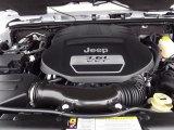 2012 Jeep Wrangler Sahara Arctic Edition 4x4 3.6 Liter DOHC 24-Valve VVT Pentastar V6 Engine