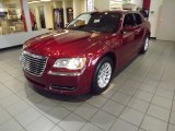 2012 Deep Cherry Red Crystal Pearl Chrysler 300  #57875154