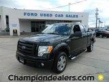 2010 Tuxedo Black Ford F150 STX SuperCab #57872932