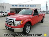 2010 Vermillion Red Ford F150 XLT SuperCrew #57872931