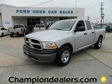 2009 Bright Silver Metallic Dodge Ram 1500 ST Quad Cab #57872928