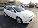 2012 White Platinum Tricoat Metallic Ford Focus SEL 5-Door #57969459