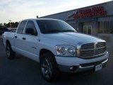 2008 Bright White Dodge Ram 1500 Lone Star Edition Quad Cab #5799914