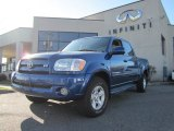2005 Spectra Blue Mica Toyota Tundra SR5 TRD Double Cab 4x4 #57875126