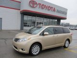 2011 Sandy Beach Metallic Toyota Sienna XLE AWD #57969453