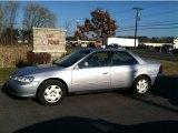 2002 Satin Silver Metallic Honda Accord LX Sedan #57875118