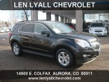2011 Black Granite Metallic Chevrolet Equinox LT AWD #57969439