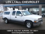 2000 Summit White Chevrolet Silverado 1500 LS Extended Cab #57969438