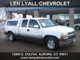 2000 Summit White Chevrolet Silverado 1500 LS Extended Cab #57969438