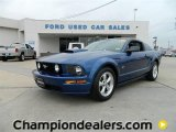 2007 Vista Blue Metallic Ford Mustang GT Premium Coupe #57872899