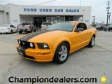 2007 Grabber Orange Ford Mustang GT Premium Coupe #57872898