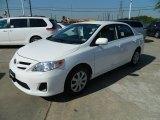 2011 Super White Toyota Corolla LE #57874517