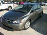 2006 Galaxy Gray Metallic Honda Civic Hybrid Sedan #57876924