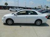 2011 Super White Toyota Corolla LE #57874493