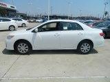 2011 Super White Toyota Corolla LE #57874492