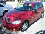 Inferno Red Crystal Pearl Chrysler PT Cruiser in 2007