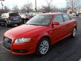 2008 Brilliant Red Audi A4 2.0T quattro S-Line Sedan #58090746