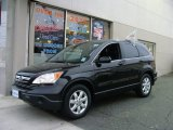 2009 Crystal Black Pearl Honda CR-V EX-L 4WD #58090695