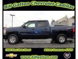 2009 Imperial Blue Metallic Chevrolet Silverado 1500 LS Crew Cab #58090673