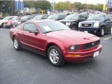 2007 Redfire Metallic Ford Mustang V6 Premium Coupe #57874299