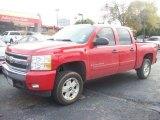 2008 Victory Red Chevrolet Silverado 1500 LT Crew Cab 4x4 #57874288