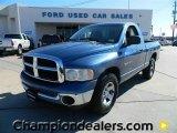 2002 Atlantic Blue Pearl Dodge Ram 1500 ST Regular Cab #57872884