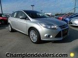 2012 Ingot Silver Metallic Ford Focus SEL 5-Door #57872840