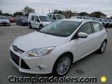 2012 White Platinum Tricoat Metallic Ford Focus SEL 5-Door #57872839