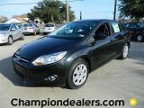2012 Tuxedo Black Metallic Ford Focus SE Sedan #57872838