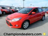 2012 Race Red Ford Focus SE 5-Door #57872837