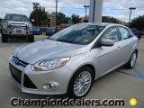 2012 Ingot Silver Metallic Ford Focus SEL Sedan #57872836