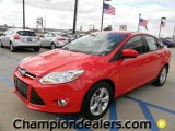 2012 Race Red Ford Focus SE Sport Sedan #57872835