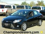 2012 Black Ford Focus SE Sedan #57872830
