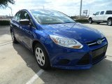 2012 Ford Focus S Sedan Front 3/4 View