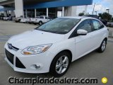 2012 Oxford White Ford Focus SE Sport Sedan #57872823