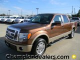 2012 Golden Bronze Metallic Ford F150 Lariat SuperCrew #57872790
