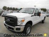 2012 Oxford White Ford F250 Super Duty XL SuperCab 4x4 #57872764