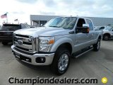 2012 Ingot Silver Metallic Ford F250 Super Duty Lariat Crew Cab 4x4 #57872747