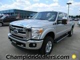 2012 Ingot Silver Metallic Ford F250 Super Duty Lariat Crew Cab 4x4 #57872742