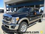 2012 Black Ford F250 Super Duty Lariat Crew Cab 4x4 #57872741