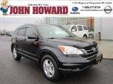 2010 Crystal Black Pearl Honda CR-V EX-L AWD #58090475