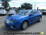 2011 Blue Flame Metallic Ford Fusion SEL #57872692