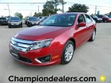 2011 Red Candy Metallic Ford Fusion SEL #57872690