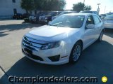 2011 White Platinum Tri-Coat Ford Fusion SEL V6 #57872688