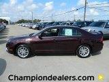 2011 Bordeaux Reserve Metallic Ford Fusion SEL V6 #57872686