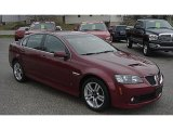 2009 Sport Red Metallic Pontiac G8 Sedan #58090453