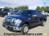 2011 Dark Blue Pearl Metallic Ford F150 XLT SuperCrew #57872664