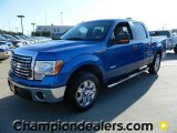 2011 Blue Flame Metallic Ford F150 XLT SuperCrew #57872663
