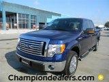 2011 Dark Blue Pearl Metallic Ford F150 XLT SuperCrew #57872657